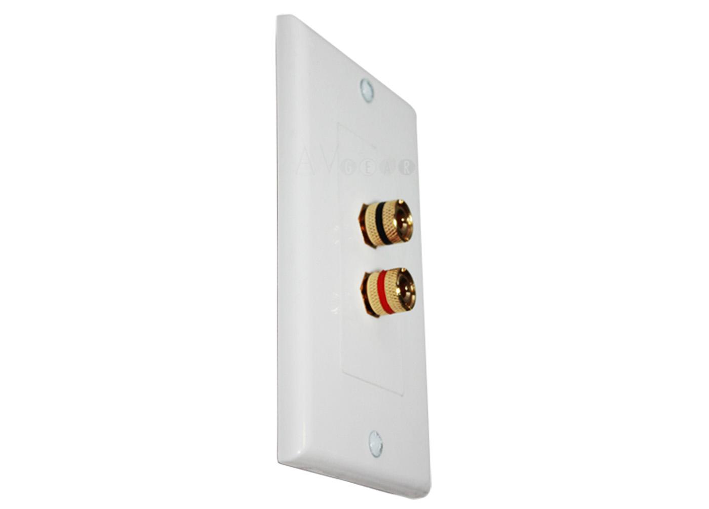 Buy Speaker Wire Binding Post Terminal Connectors Wall