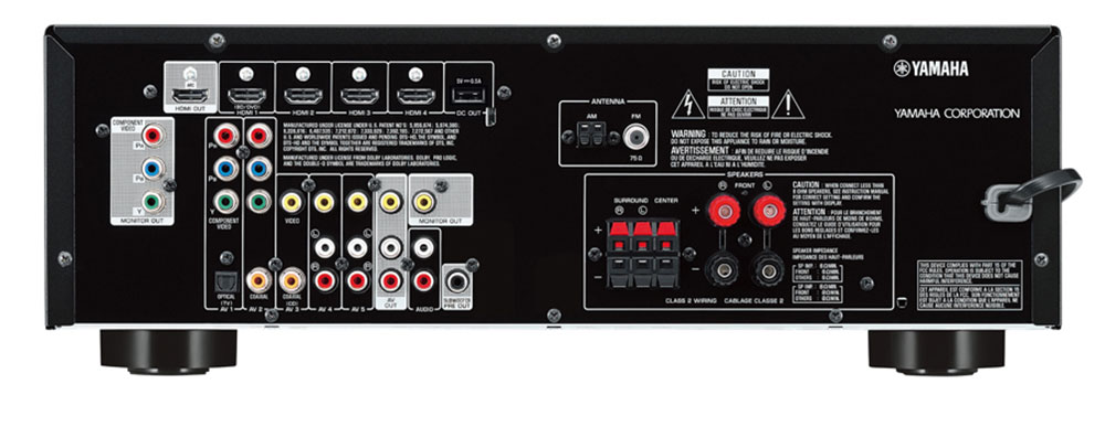 Yamaha Htr 3067 5 1 Channel Av Receiver At Avgearshop Com
