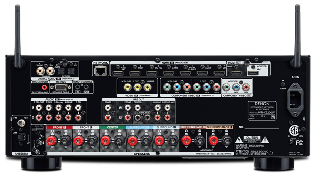 Buy Denon Avr Channel Ultra Receiver