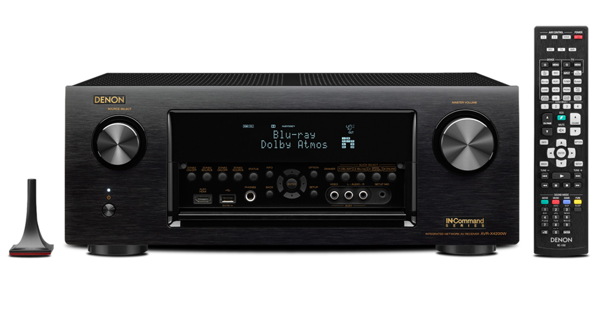 Buy Denon AVR-X4200W 7.2 Channel 4K Ultra HD AV Receiver