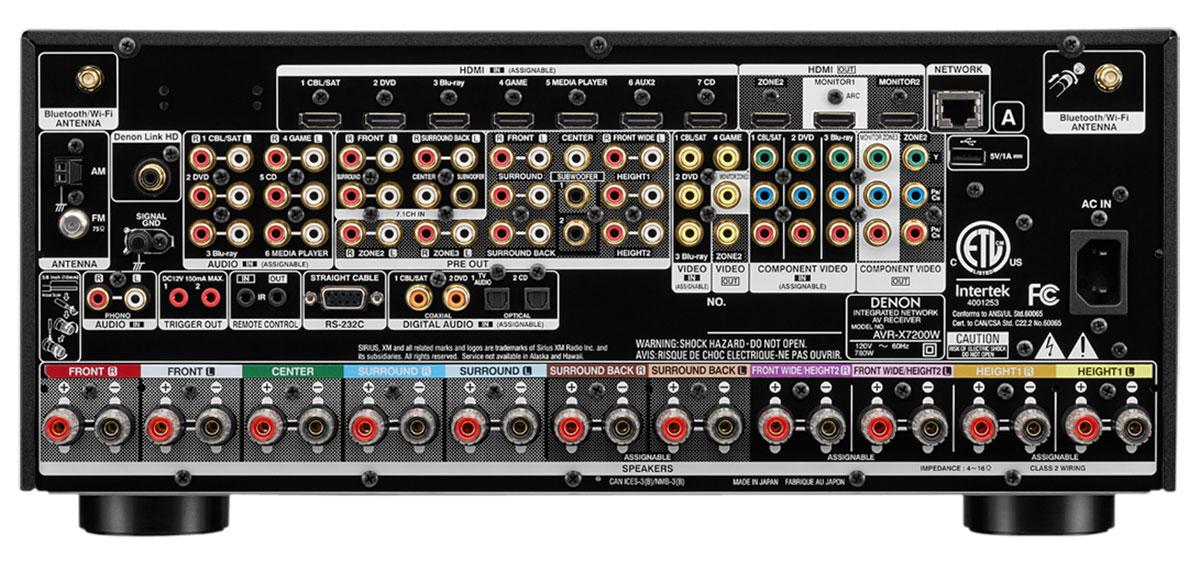 Buy Denon Avr X7200wa In Command 4k Ultra Hd Av Receiver