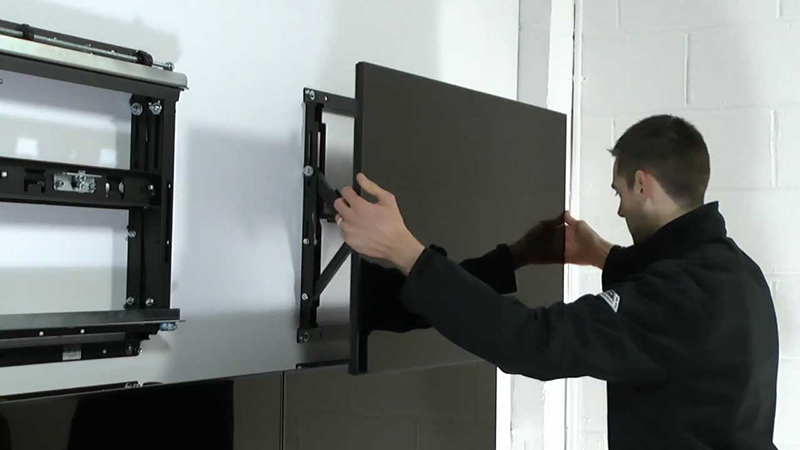 Buy B Tech Professional Video Wall Mount With Quick Lock