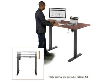 Boost Industries FS-DR48Mv3 Motorized Height Adjustable Desk Frame sold online by AVGearShop.com