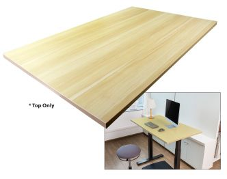 "Boost Industries BeachOak-47"" Single Piece Office Desk Top sold online by AVGearShop.com"