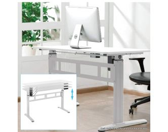 Boost Industries FS-OD55M-WH Motorized Height Adjustable Office Desk sold online by AVGearShop.com