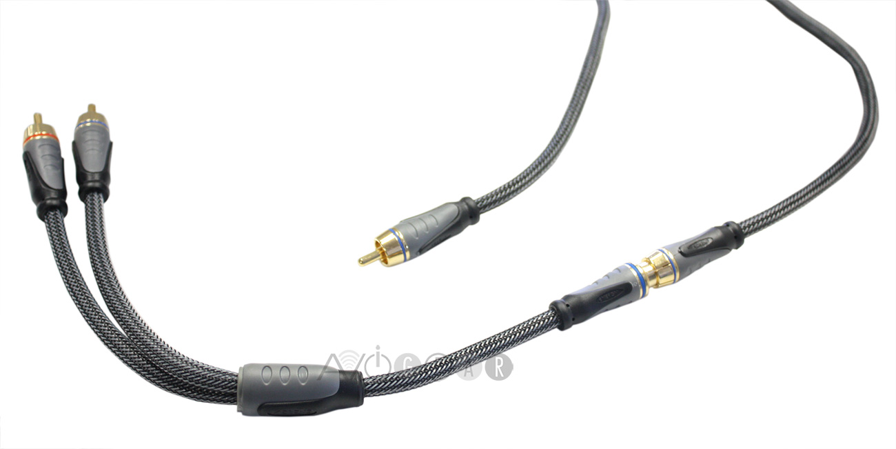 buy energy flat panel series hd subwoofer cable with y