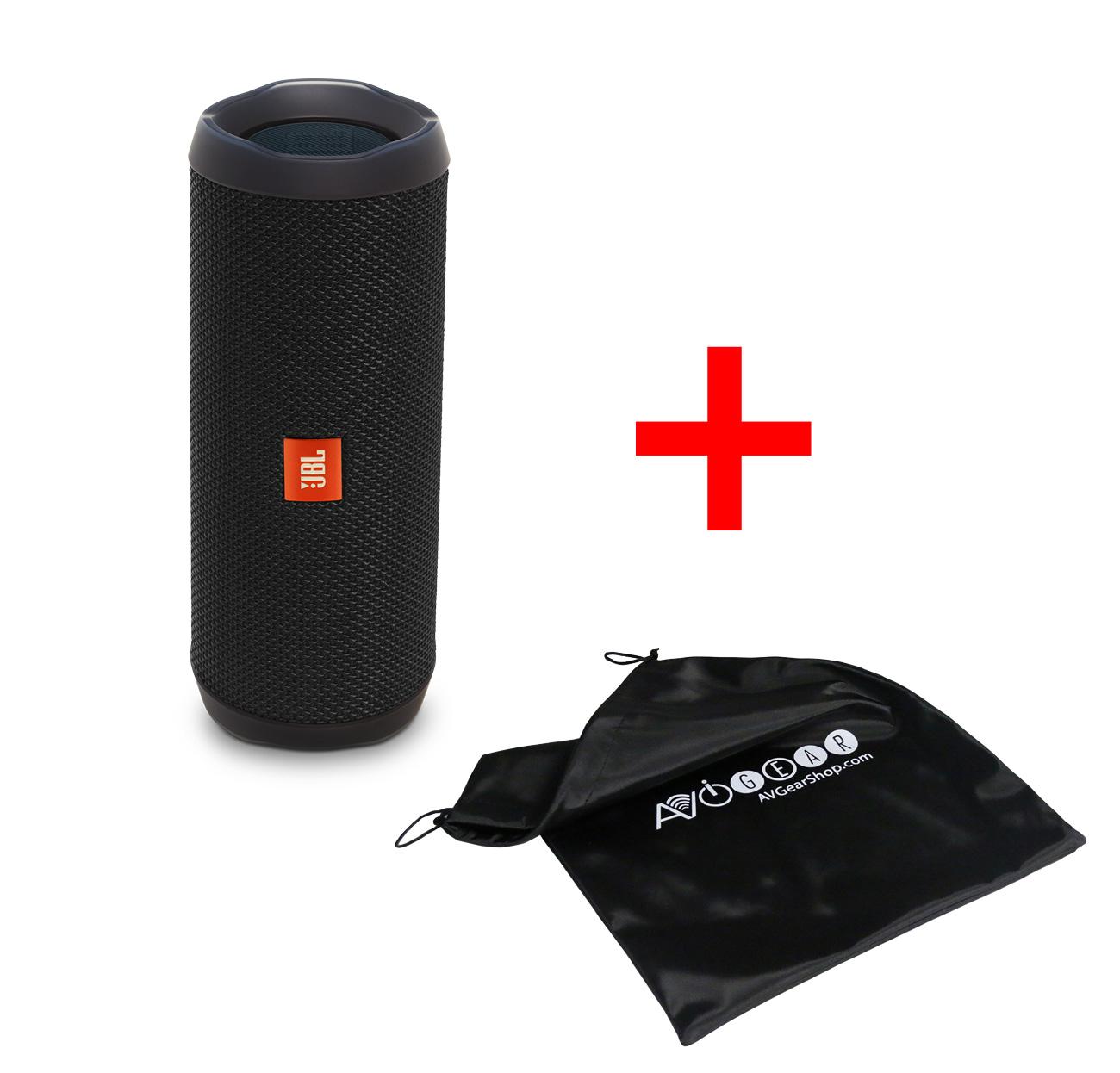 jbl flip 4 waterproof portable bluetooth speaker black. Black Bedroom Furniture Sets. Home Design Ideas