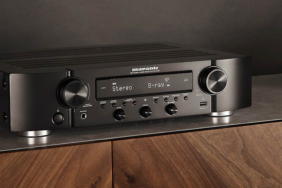 Marantz NR1200 2 CH Slim Stereo Receiver With HEOS Built-In
