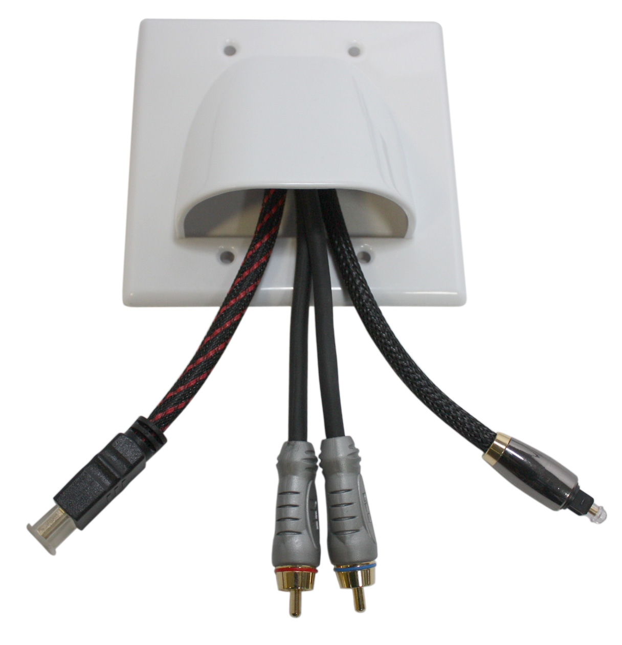 Buy Dual Gang Low Voltage Cable Management Wall Plate Online For Wiring Hdmi Plates 698cad At