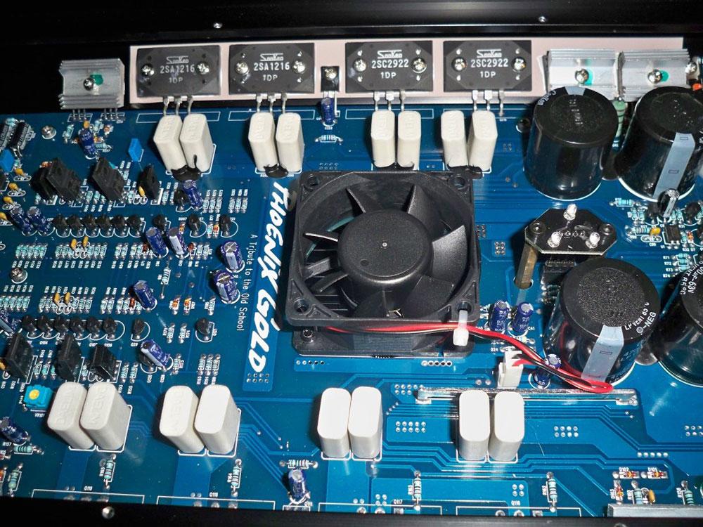 Phoenix Gold ELITE.2 1000W 2-Channel Amplifier