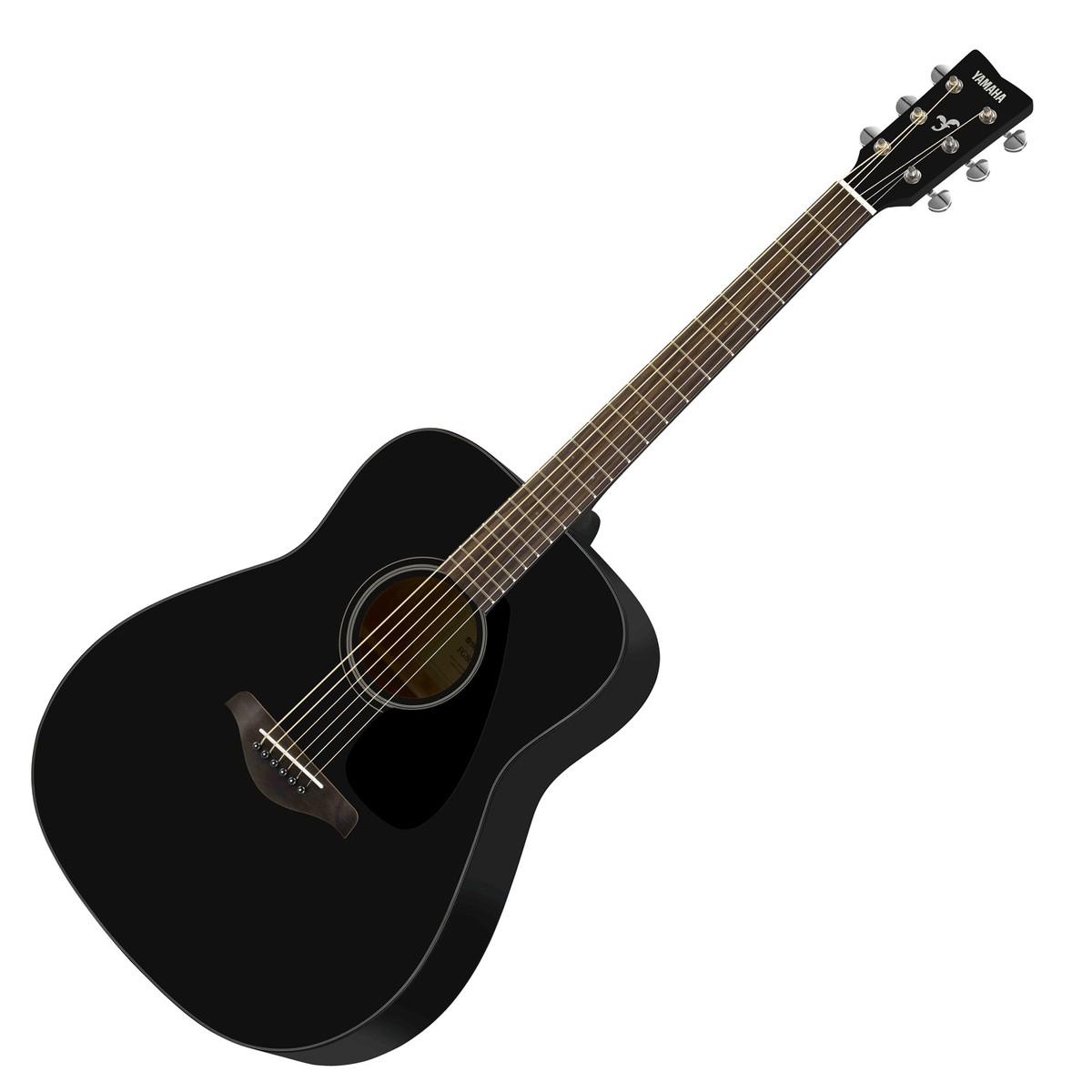 Yamaha Fg S Acoustic Guitar Black