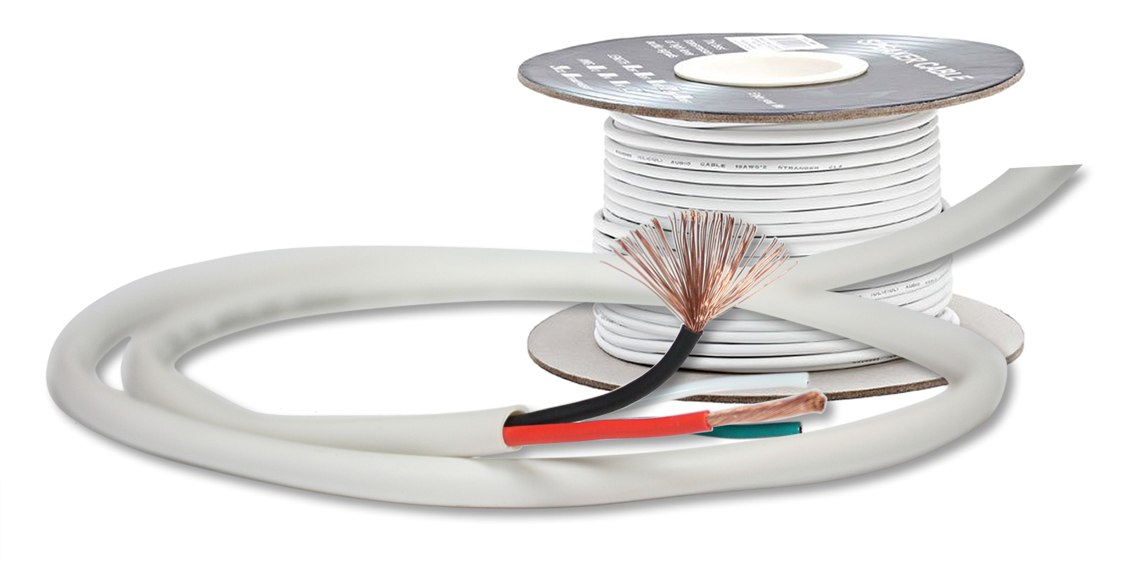 150 feet ThruSound Burial Series 16AWG 4-Conductor Outdoor Speaker Wire