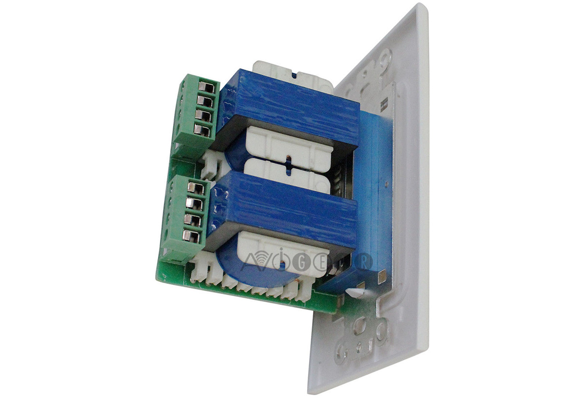 Buy Avgear Vcs 100 In Wall Stereo Slider Volume Control With How To Wire A Switch Impedance Matching Online For 4999cad At