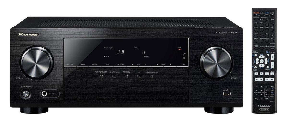 pioneer vsx 530 k. buy pioneer vsx-530-k 5.1 channel a/v receiver with bluetooth online for $369.99cad at avgearshop.com vsx 530 k o