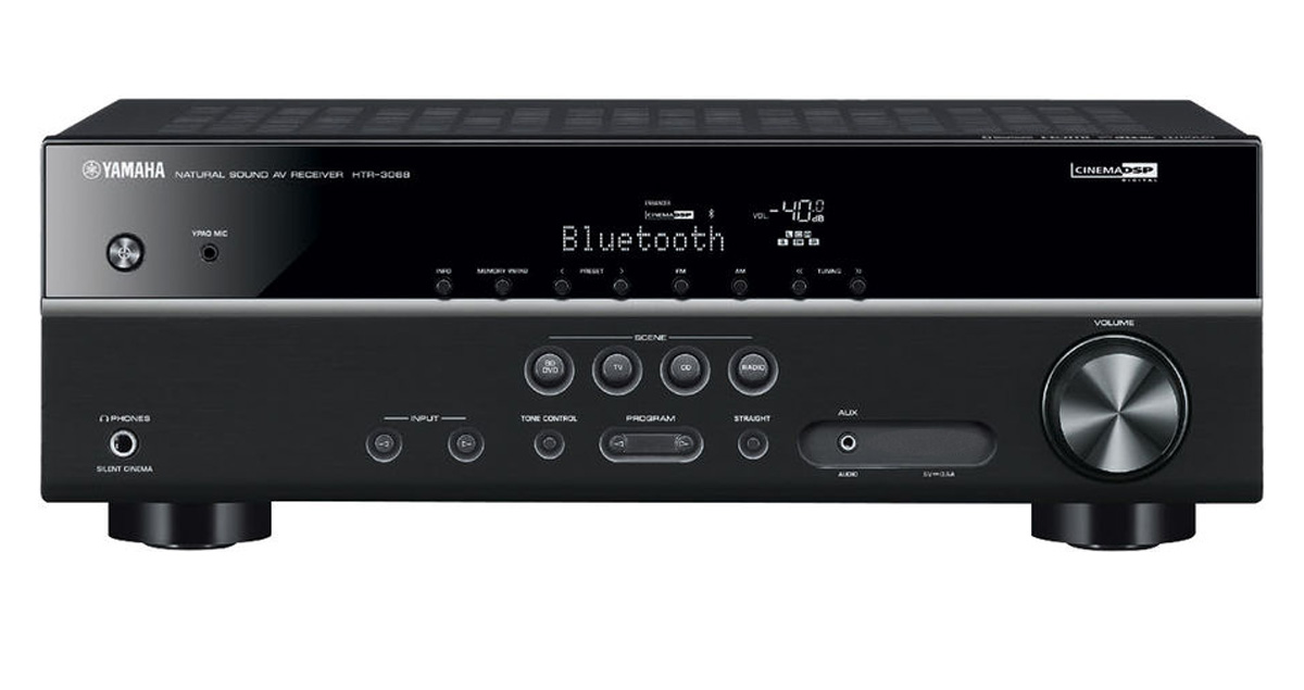 Yamaha Htr 3068 5 1 Channel Av Receiver With Bluetooth