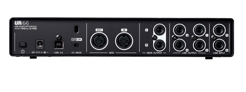 yamaha steinberg ur44 6 x 4 usb 2 0 audio interface with 4