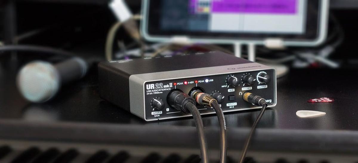 Yamaha Steinberg Ur22mkii 2 X 2 Usb 2 0 Audio Interface