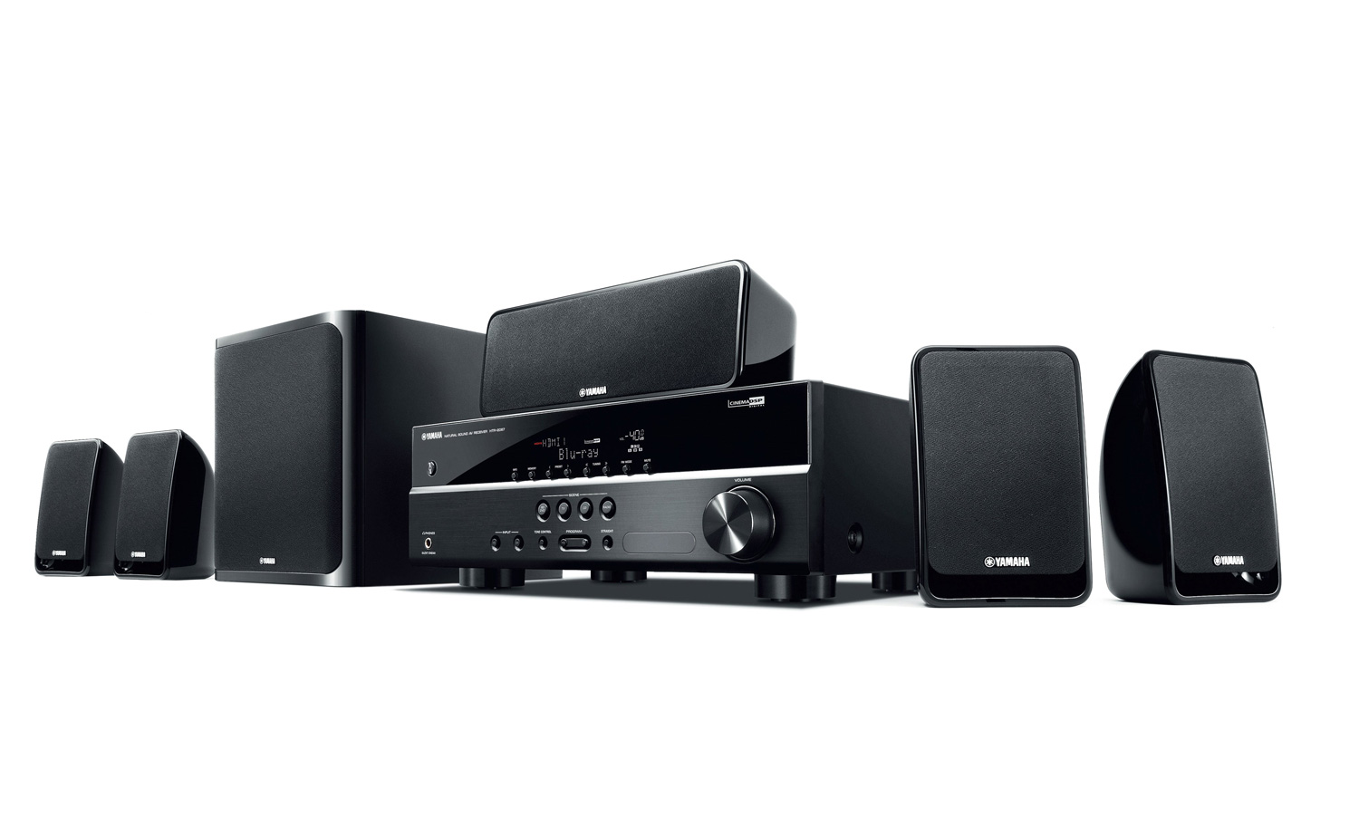 Yamaha Yht 1840 5 1 Channel Home Theatre Packageyamaha Yht