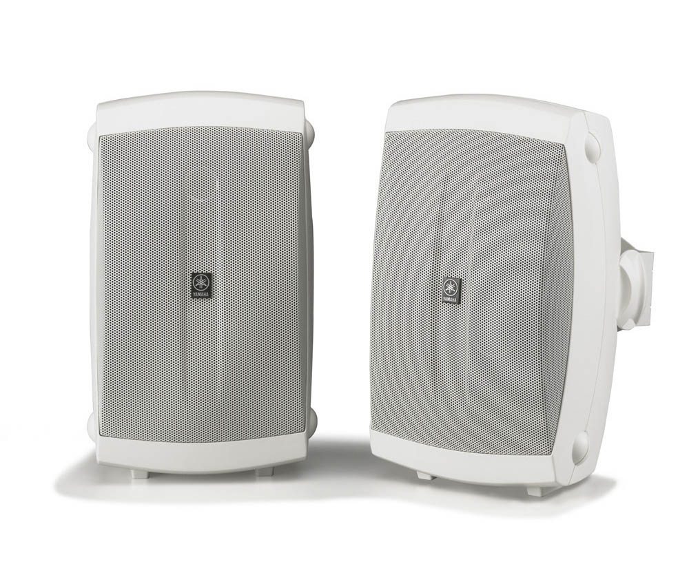 buy yamaha ns aw150w 2 way outdoor speakers with wall