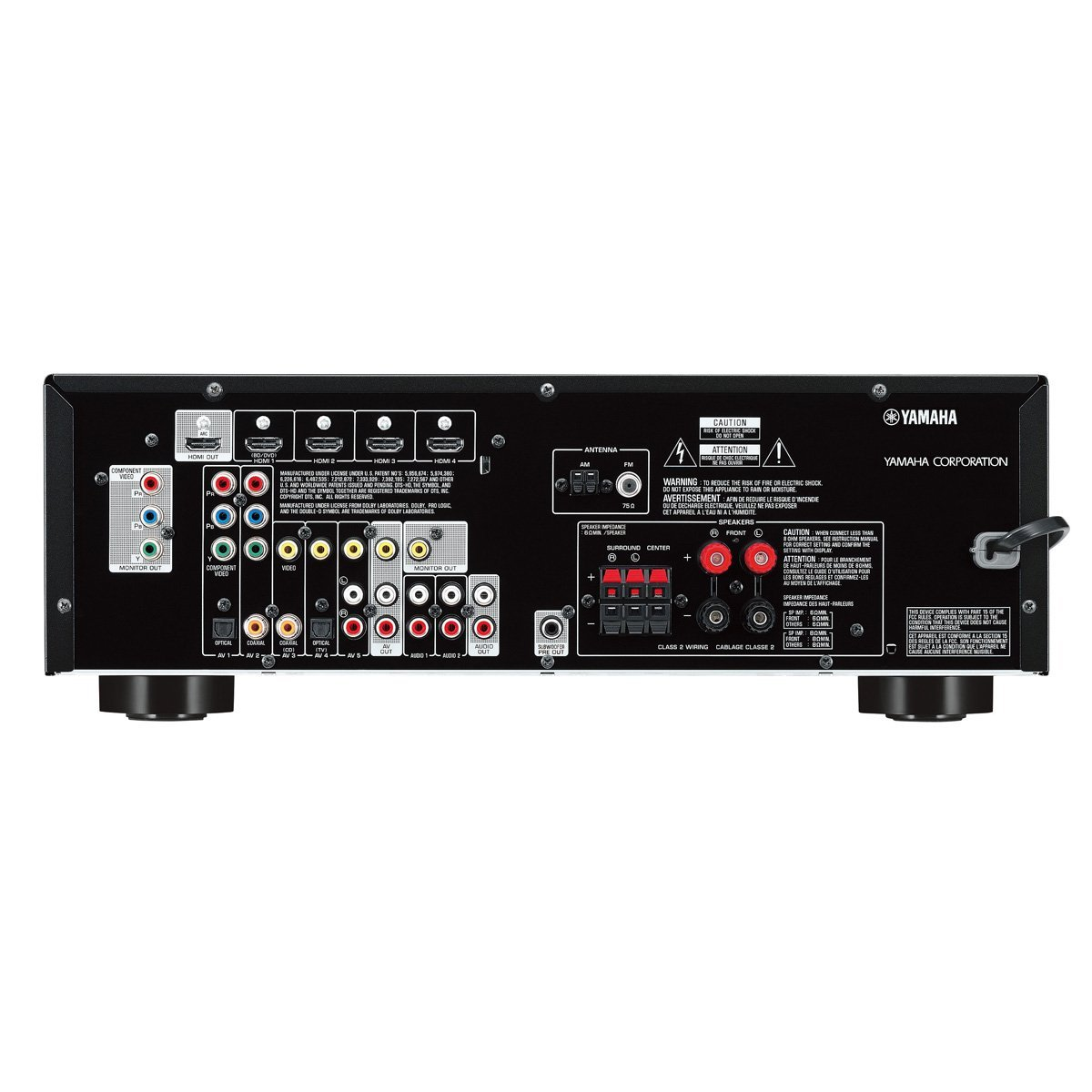 What Is The Impedance For Yamaha Home Theatre Speakers