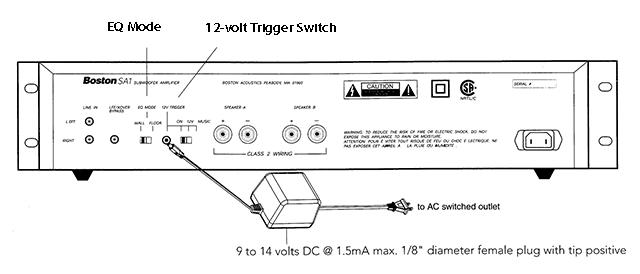 buy boston acoustics sa1 subwoofer amplifier online for 599 99cad diagram of boston acoutics sa1 subwoofer amplifier back panel controls